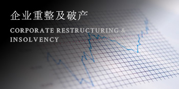 企业重整及破产 CORPORATE RESTRUCTURING & <br />INSOLVENCY