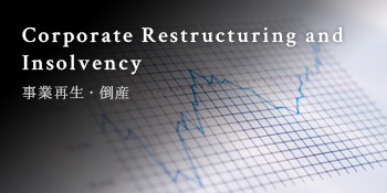 Corporate Restructuring and <br />Insolvency 事業再生・倒産